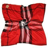 Платок Burberry красный 2104