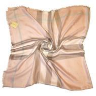 Платок Burberry нежно-розовый 2102