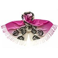 Шерстяной палантин Tranini 0701 PAL 6 розовый