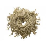 Шарф снуд крупной вязки Tranini 0051 ART-1529 из альпаки и шерсти
