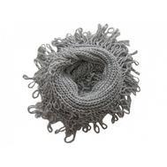 Шарф снуд крупной вязки Tranini 0055 ART-1050 из альпаки и шерсти
