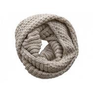 Шарф снуд крупной вязки Tranini 0135 ART-1506 из альпаки и шерсти