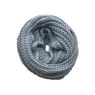 Шарф снуд крупной вязки Tranini 0092 ART-1508 из альпаки и шерсти