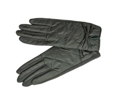 Перчатки женские Tranini 00301 трикотажные с плащёвкой серые
