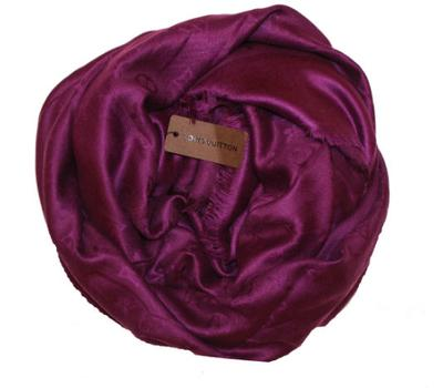 Платок Louis Vuitton фиолетовый 1178