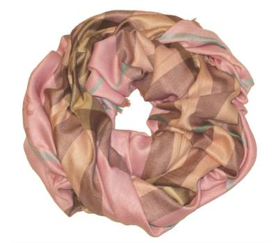 Платок Burberry розовый, 2105