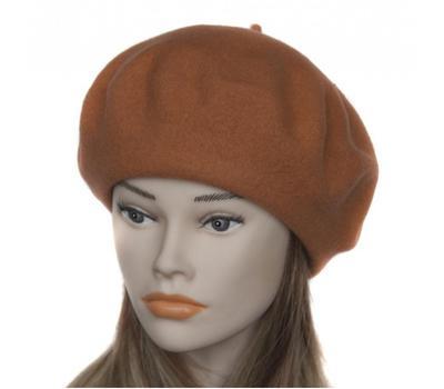Берет женский Tonak 1160 светло-коричневый