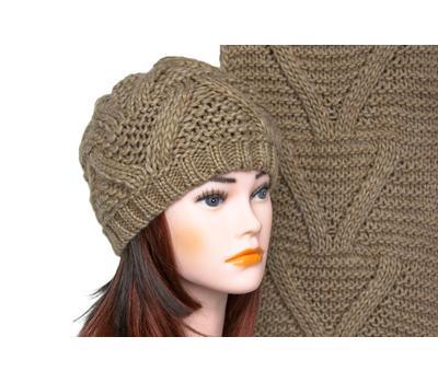 Комплект (шапка, шарф) 5002