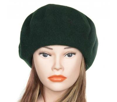 Берет женский Tonak 03400 темный зеленый