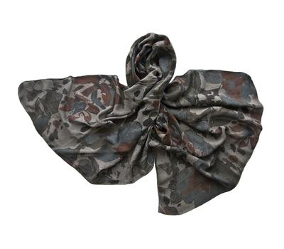 Палантин Tranini шерстяной 1176 серый