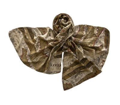 Палантин Tranini шерстяной 1052 коричневый