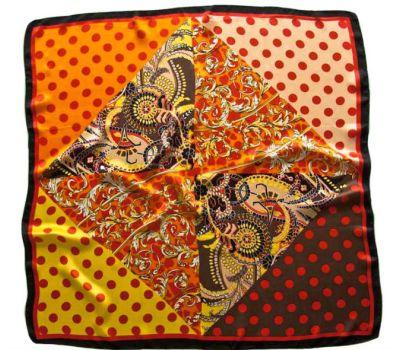 Платок женский шелковый Tranini 90*90,0078