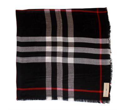Платок Burberry черный, 2106