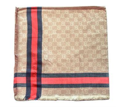 Платок Gucci серо-коричневый, 6005