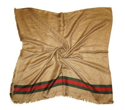 Платок Gucci песочный, 6003