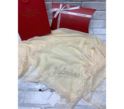 Платок шелковый Valentino 5018 белый