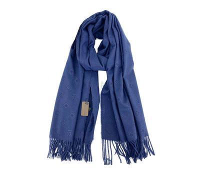 Палантин Louis Vuitton Monogram яркий синий 3000