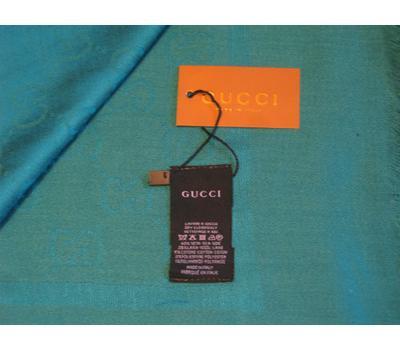 Платок Gucci 4057 бирюзовый