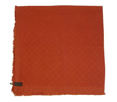 Платок Louis Vuitton 4021 оранжевый